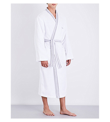 CALVIN KLEIN Riviera bath robe (White