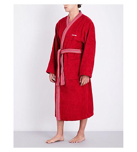 CALVIN KLEIN Riviera bath robe (Vapour