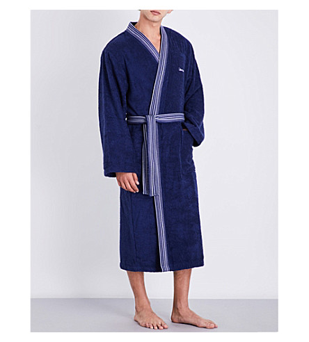 CALVIN KLEIN Riviera bath robe (Midnight