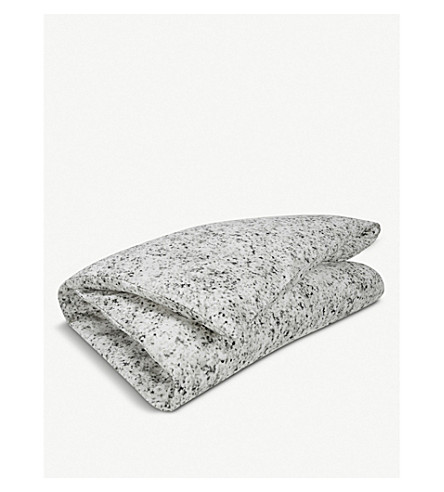 CALVIN KLEIN Nocturnal blossoms duvet cover (Grey