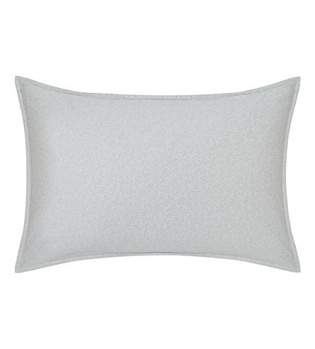 CALVIN KLEIN Nocturnal blossoms standard pillowcase (Grey