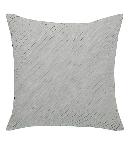 CALVIN KLEIN Nocturnal blossoms square pillow case (Grey