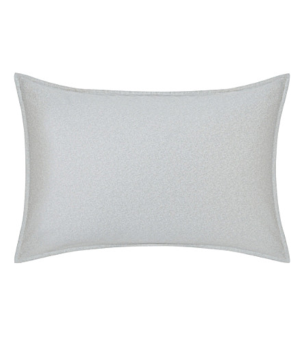 CALVIN KLEIN Nocturnal Blossoms standard pillowcase (Grey