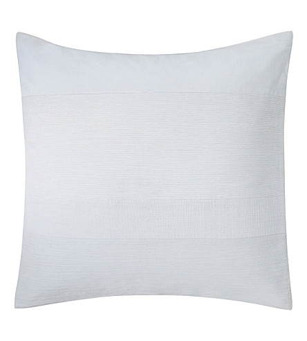 CALVIN KLEIN Nocturnal textured cushion cover (Cream