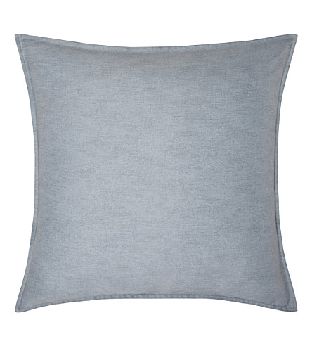 CALVIN KLEIN Caspian kura square pillowcase (Grey