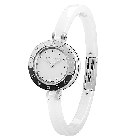 BVLGARI B. zero1 钢和陶瓷手表
