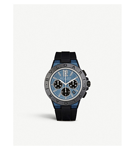 BVLGARI Diagono magnesium and ceramic watch