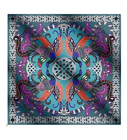 BVLGARI Heritage silk scarf
