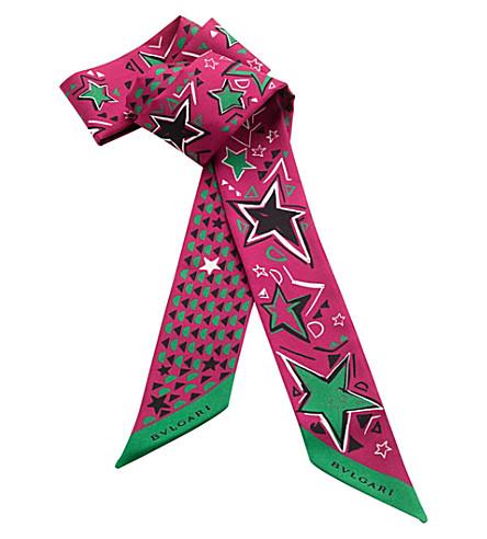 BVLGARI Shelley silk scarf