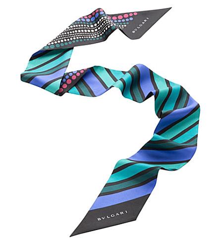 BVLGARI Heritage Shelley silk scarf
