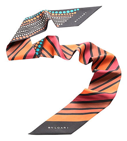 BVLGARI Heritage Shelley silk scarf