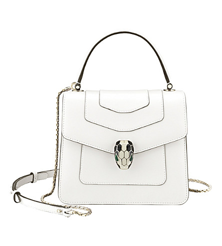 BVLGARI Serpenti Forever leather bag
