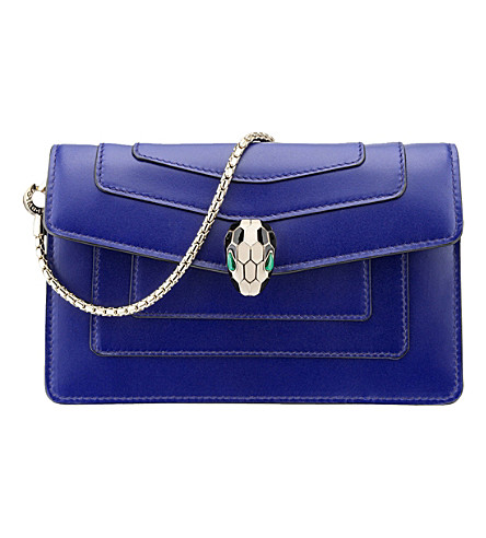 BVLGARI Serpenti Forever calf leather toy bag
