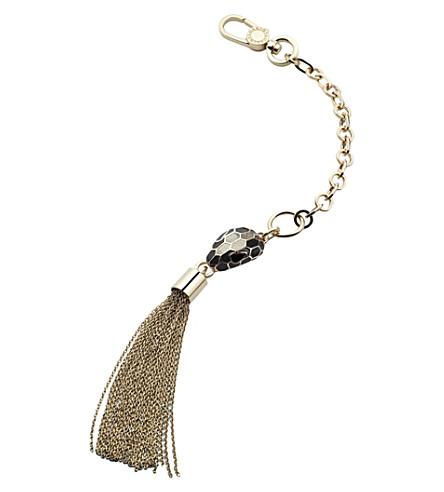 BVLGARI Serpenti Forever bag charm (Silver