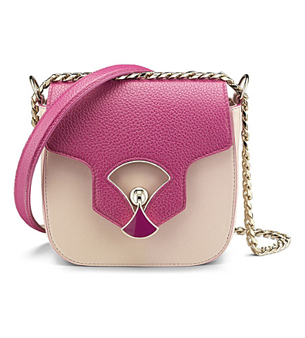 BVLGARI Diva's Dream calf-leather flap shoulder bag
