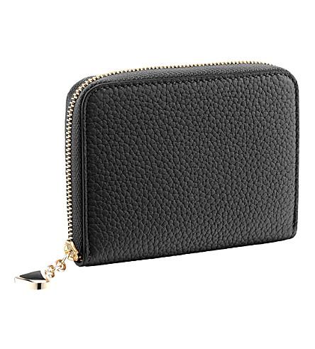BVLGARI Diva's Dream leather zip wallet