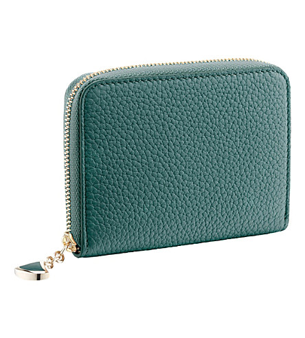 BVLGARI Diva's Dream leather mini wallet
