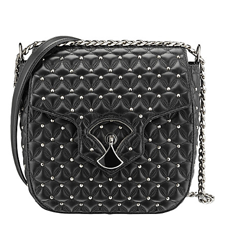 BVLGARI Diva's Dream quilted leather shoulder bag