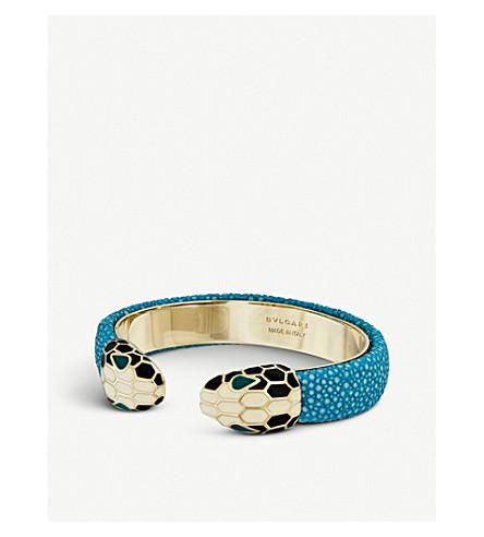 BVLGARI Serpenti Forever gold-plated bracelet