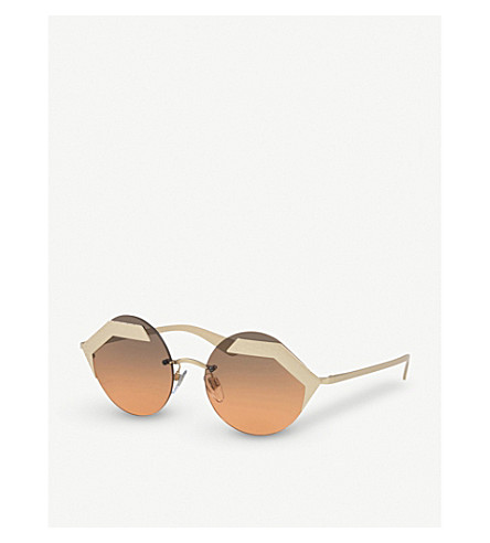 BVLGARI Serpenti 903220 round sunglasses