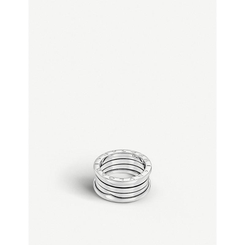 BVLGARI   B.Zero1 Four-Band Stainless Steel Ring   Goxip