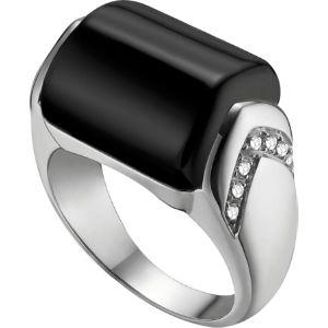 Mvsa 18kt white-gold and diamond ring