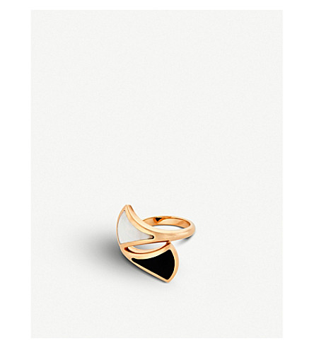 BVLGARI Divas' Dream 18kt pink-gold ring