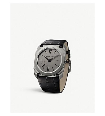 BVLGARI Octo Finissimo titanium watch