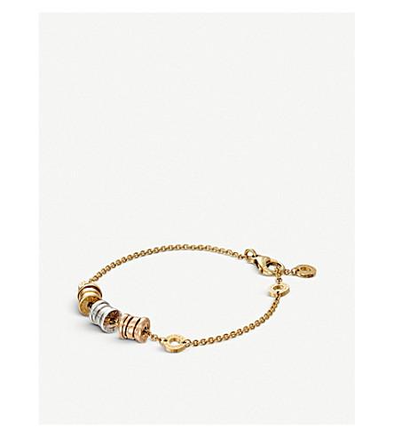 BVLGARI B.zero1 soft 18kt gold bracelet