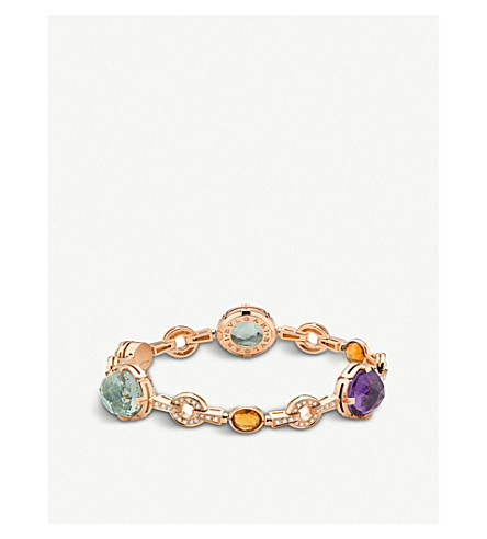 BVLGARI Parentesi cocktail 18kt pink-gold bracelet