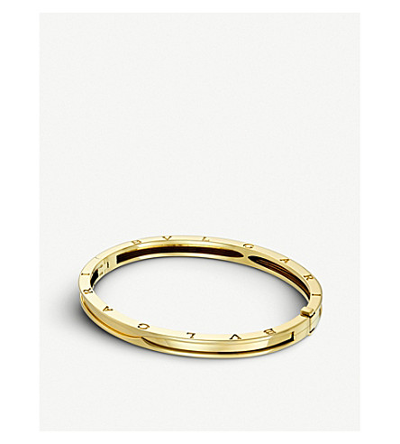 BVLGARI B.zero1 18kt yellow-gold bangle