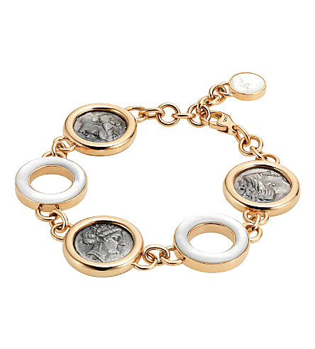 BVLGARI Monete 18kt pink-gold bracelet