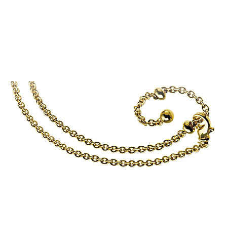 BVLGARI Catene 18kt yellow-gold chain necklace
