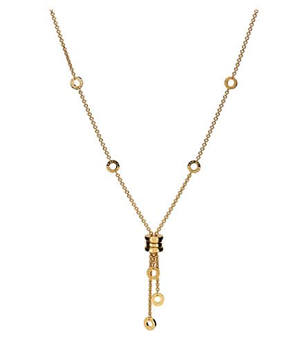 BVLGARI B.zero1 Mini 18kt yellow-gold necklace