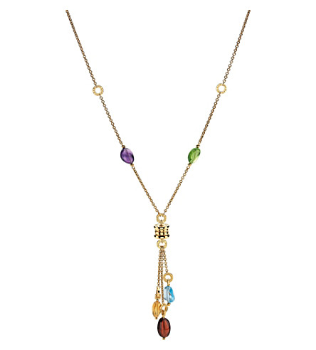 BVLGARI B.zero1 18kt yellow-gold pendant necklace