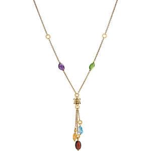 B.zero1 18kt yellow-gold pendant necklace