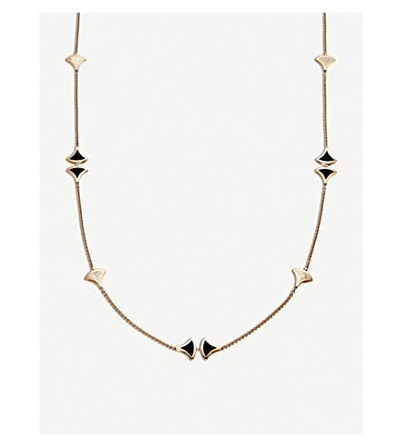 BVLGARI Divas' Dream Sautoir 18kt pink-gold necklace