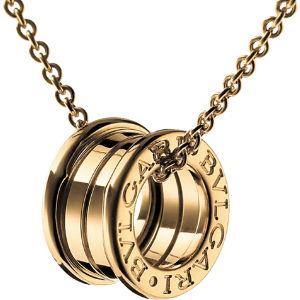 B.zero1 18kt yellow-gold pendant