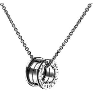 B.zero1 18kt white-gold pendant
