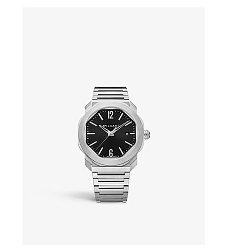 BVLGARI Octo Roma stainless steel watch