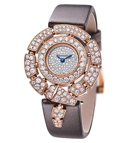 BVLGARI Divas' Dream 18kt pink-gold and diamond watch