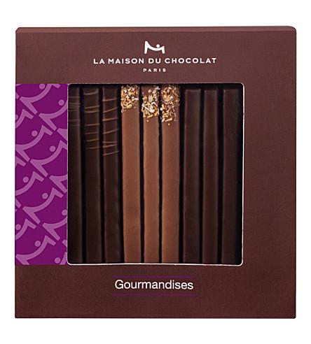 LA MAISON DU CHOCOLAT Les Gourmandises chocolate gift box 60g