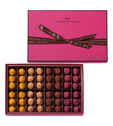 LA MAISON DU CHOCOLAT Flavoured truffle assortment 335g