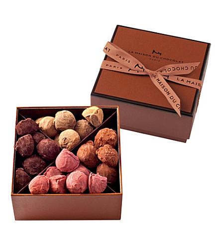 La maison du chocolat truffle collection 195g - La maison du stickers ...