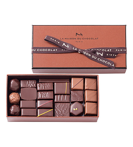 LA MAISON DU CHOCOLAT Coffret Maison 41-piece chocolate ganache selection 320g