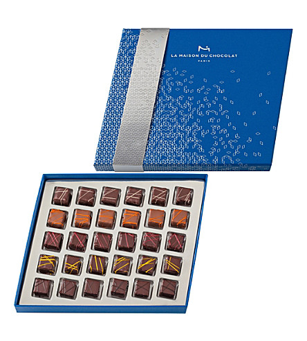 LA MAISON DU CHOCOLAT Envol 30-piece chocolate ganache selection
