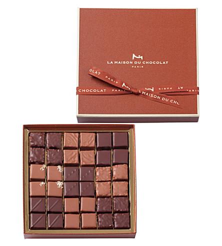 LA MAISON DU CHOCOLAT 36-piece pralinés gift box