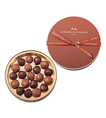 LA MAISON DU CHOCOLAT Rocher's gift box 20-piece selection of rochers pralinés