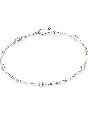 ANNOUSHKA Nectar Jasmine 18ct white-gold and sapphire bracelet