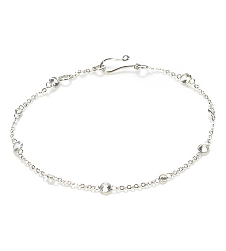 ANNOUSHKA Nectar Jasmine 18ct white-gold and sapphire bracelet